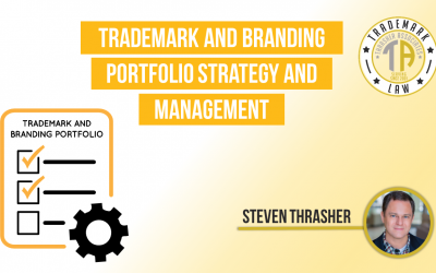 Trademark And Branding Portfolio Strategy And Management