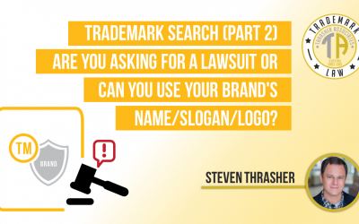 Trademark Search (Part 2) Are you asking for a lawsuit or can you use your brand's name/slogan/logo?