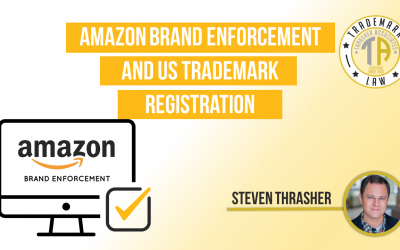 Amazon Brand Enforcement and US Trademark Registration