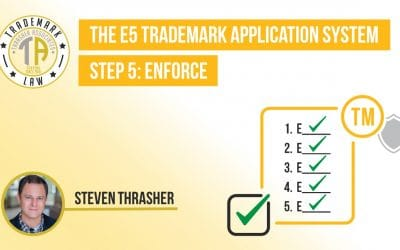 Step 5: Enforcement in The E5 Trademark Process