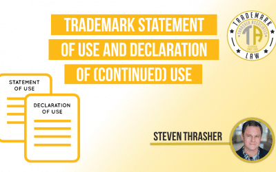 Trademark Statement of Use and Declaration of (Continued) Use